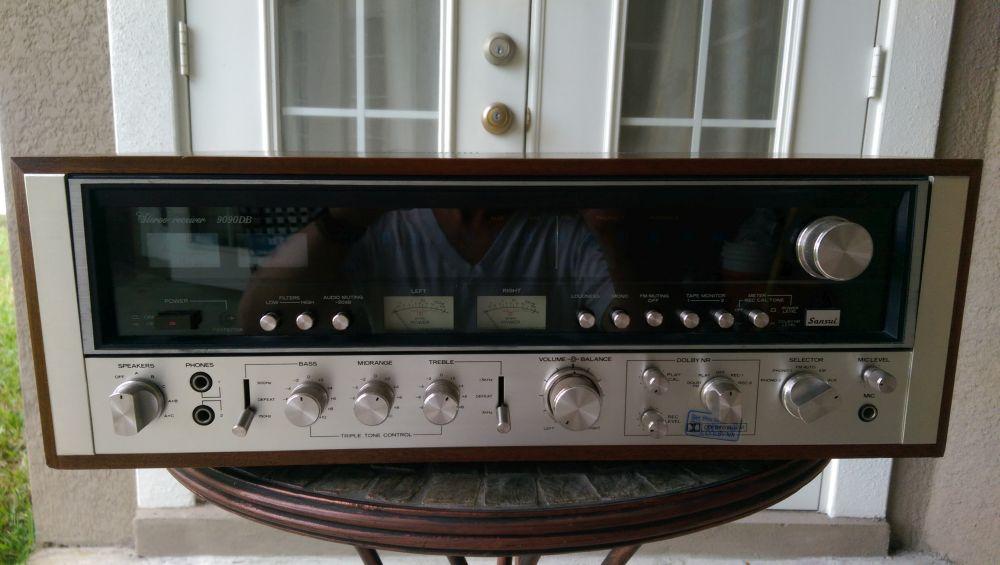 sansui 9090db----sold - garage sale