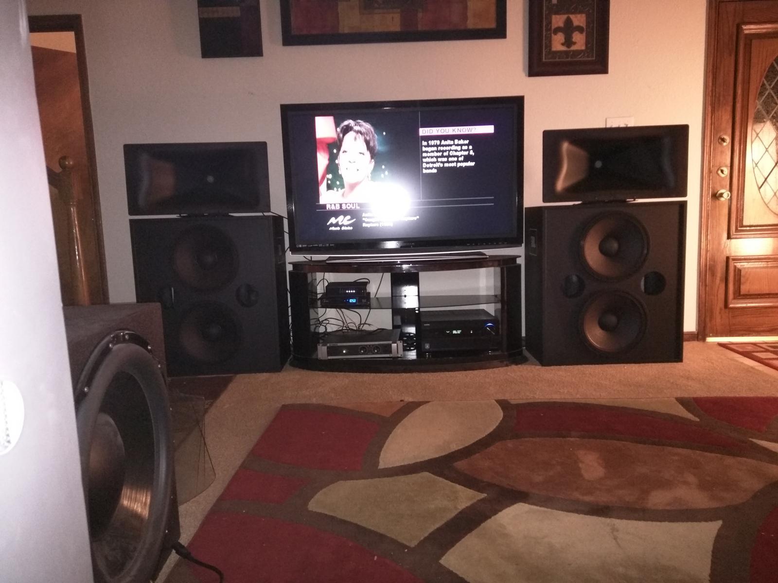 JBL 4722N Speakers Austin, Texas $1500 - Garage Sale - The Klipsch