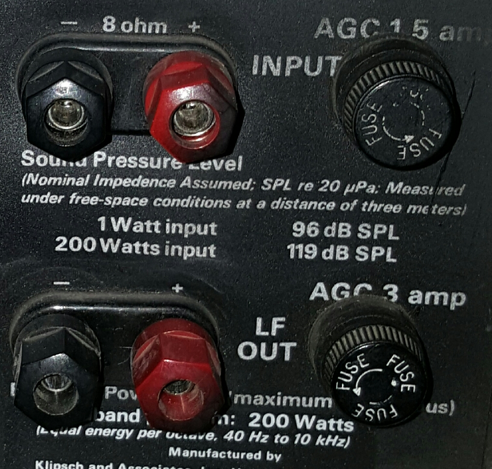 Help Wiring My La Scala Commercials    - 2-channel Home Audio