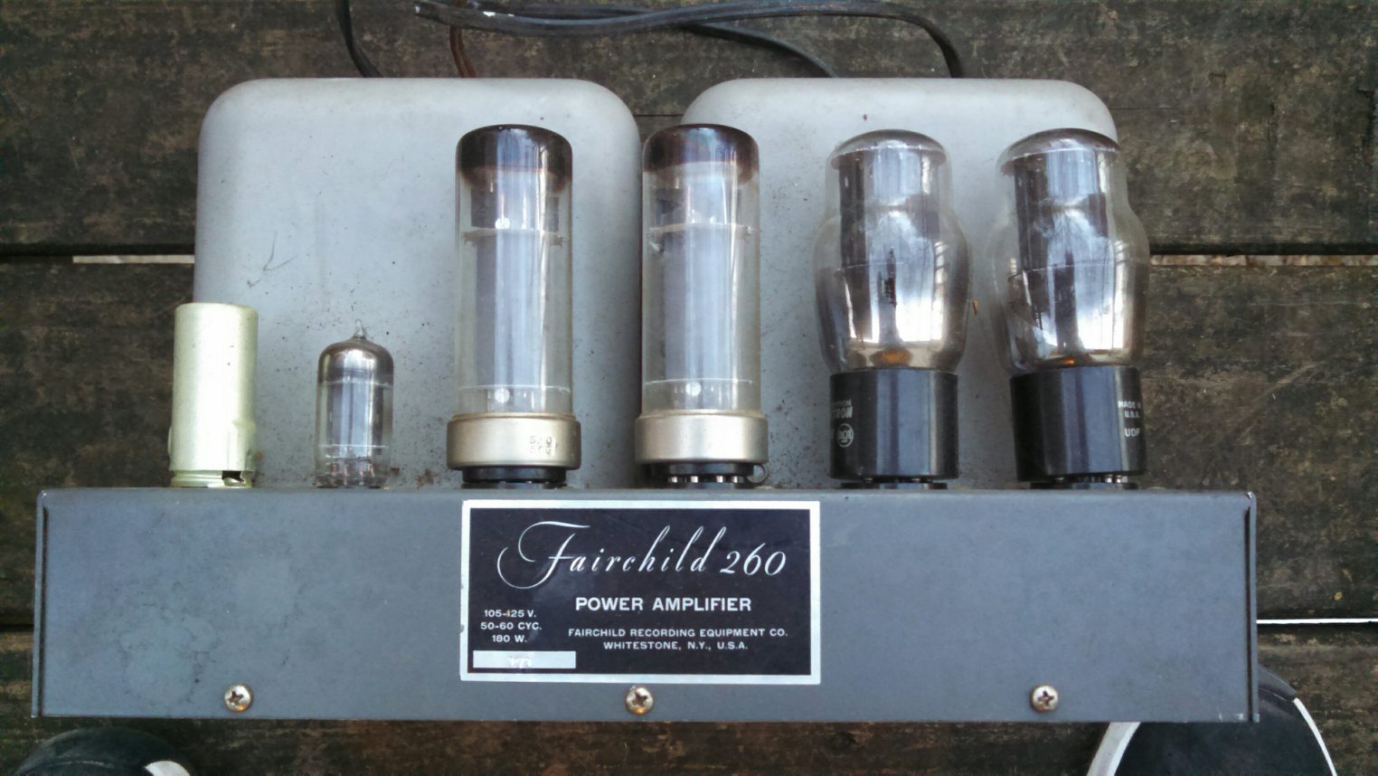 fairchild 260 talkin tubes the klipsch audio community