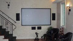 Klipsch In Wall & Ceiling projection system