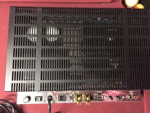 Fs Feeler Mcintosh Mc754 Solid State Amp 850 Garage
