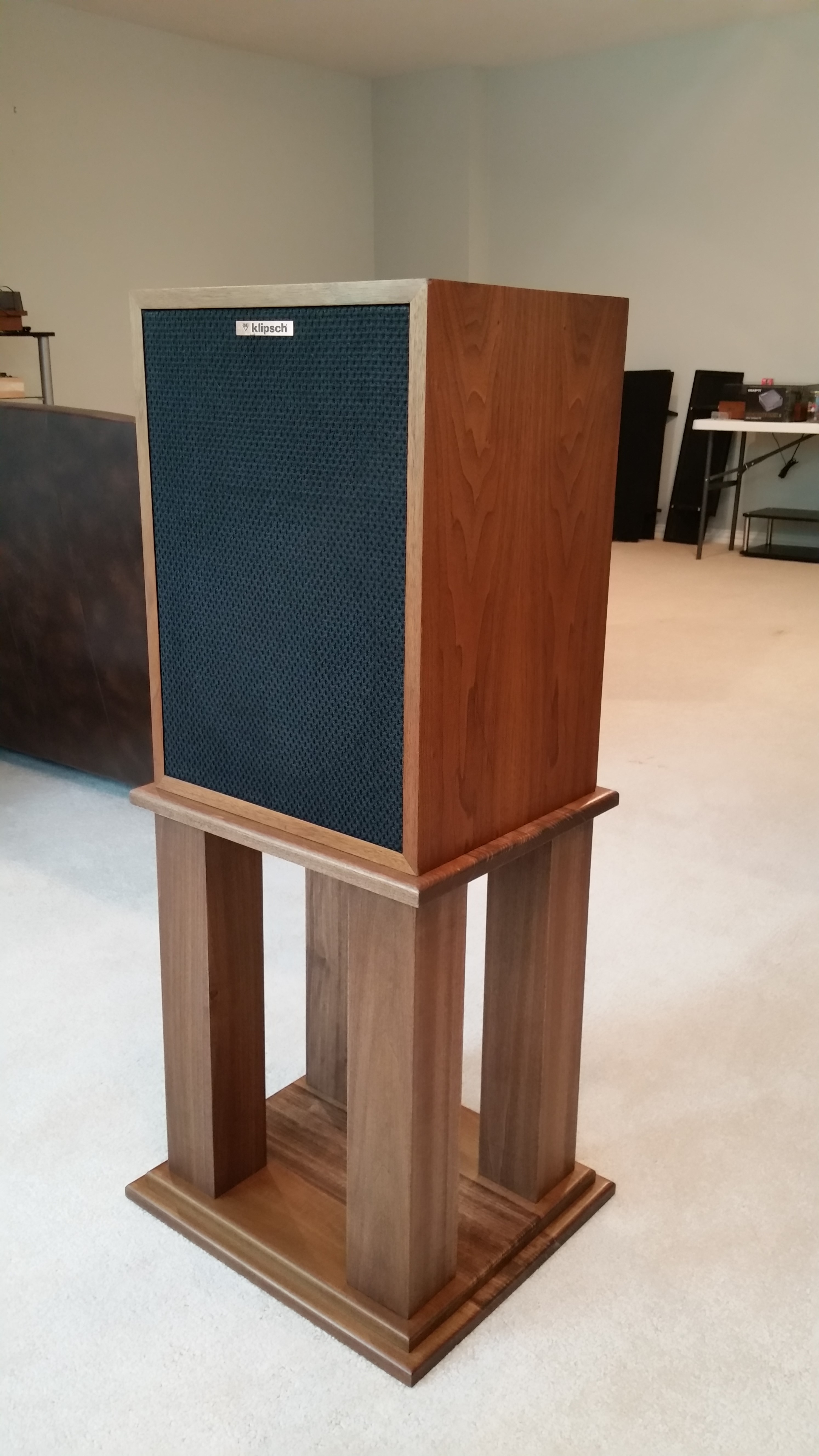 Custom Heresy Stands 2 Channel Home Audio The Klipsch