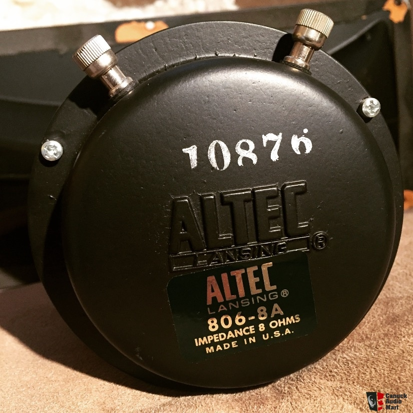 ALTEC 806-8A DRIVER FOR PC