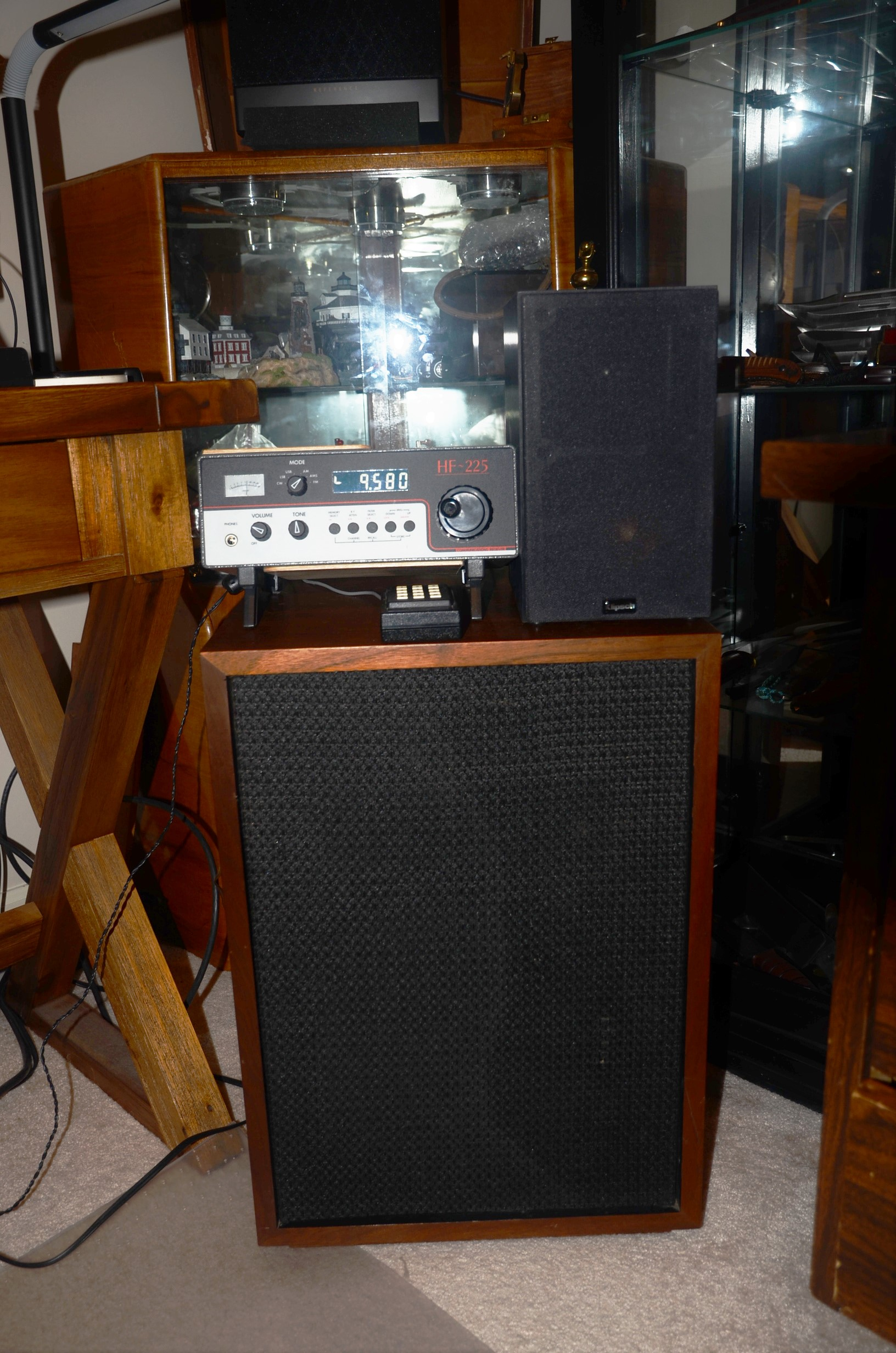 It Was Tuned To Radio Australia On 9580 KHz Which I Had First Listened In 1962 3 Quit Broadcasting Shortwave The End Of January This Year
