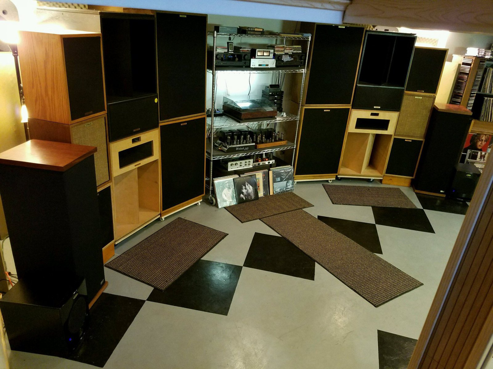 You can never have enough vintage Klipsch Speakers!