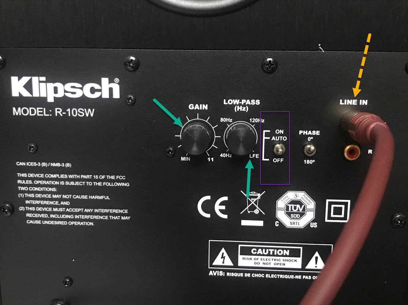My klipsch Subwoofer wont turn on - Home Theater - The