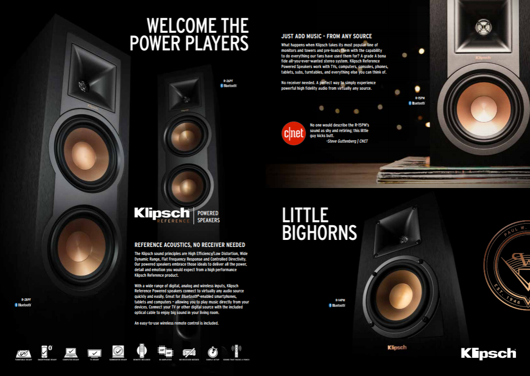 New Powered Speakers From Klipsch? - 2-Channel Home Audio - The
