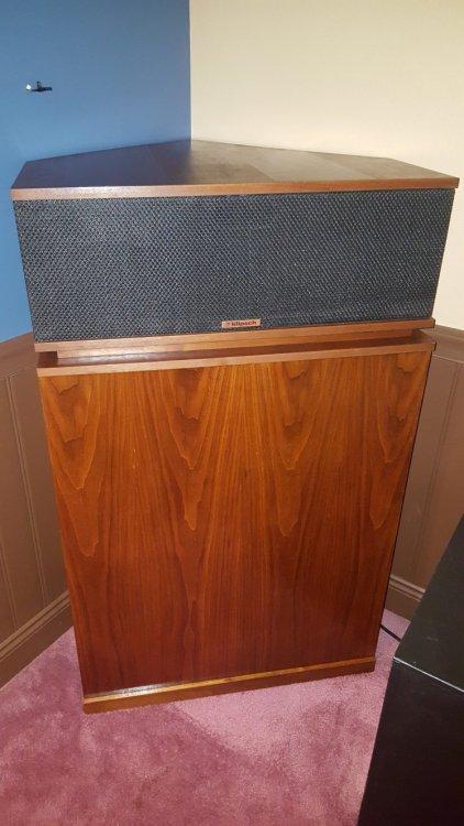 Klipschorns For Sale Garage Sale The Klipsch Audio