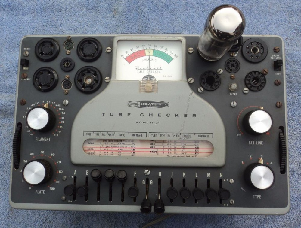 Tube Tester - HeathKit  IT-21.JPG