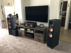 Brad's Home Theater Setup