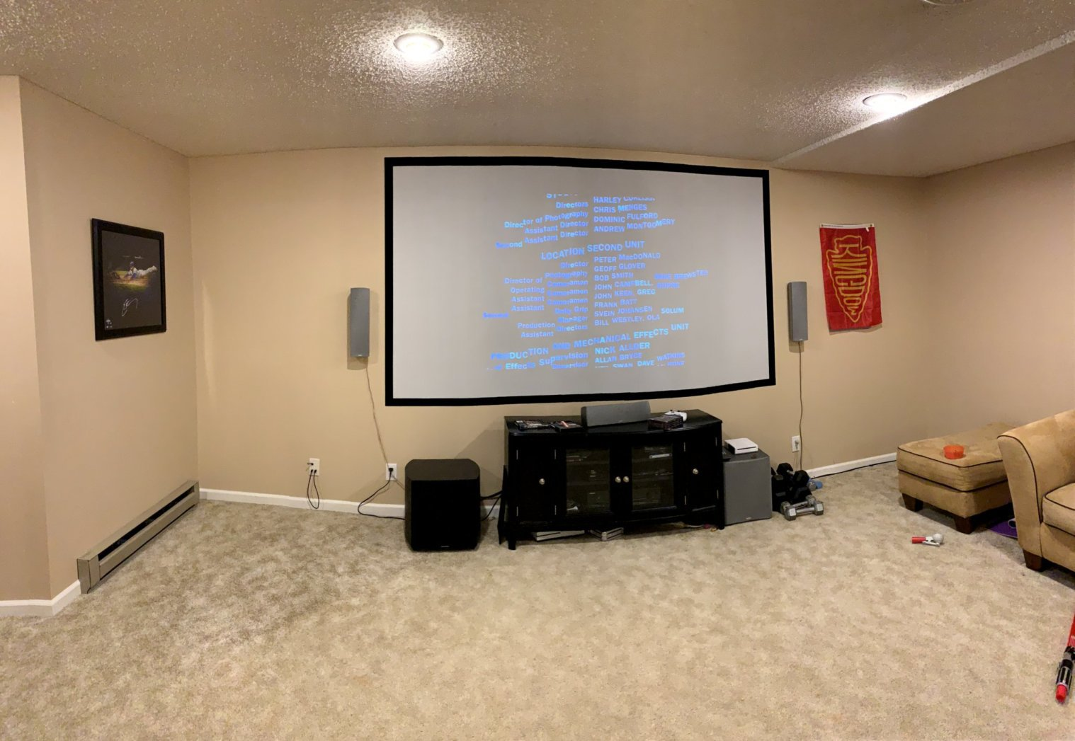 New Klipsch 5 1 Setup  Need Help With Surround Placement - Home Theater