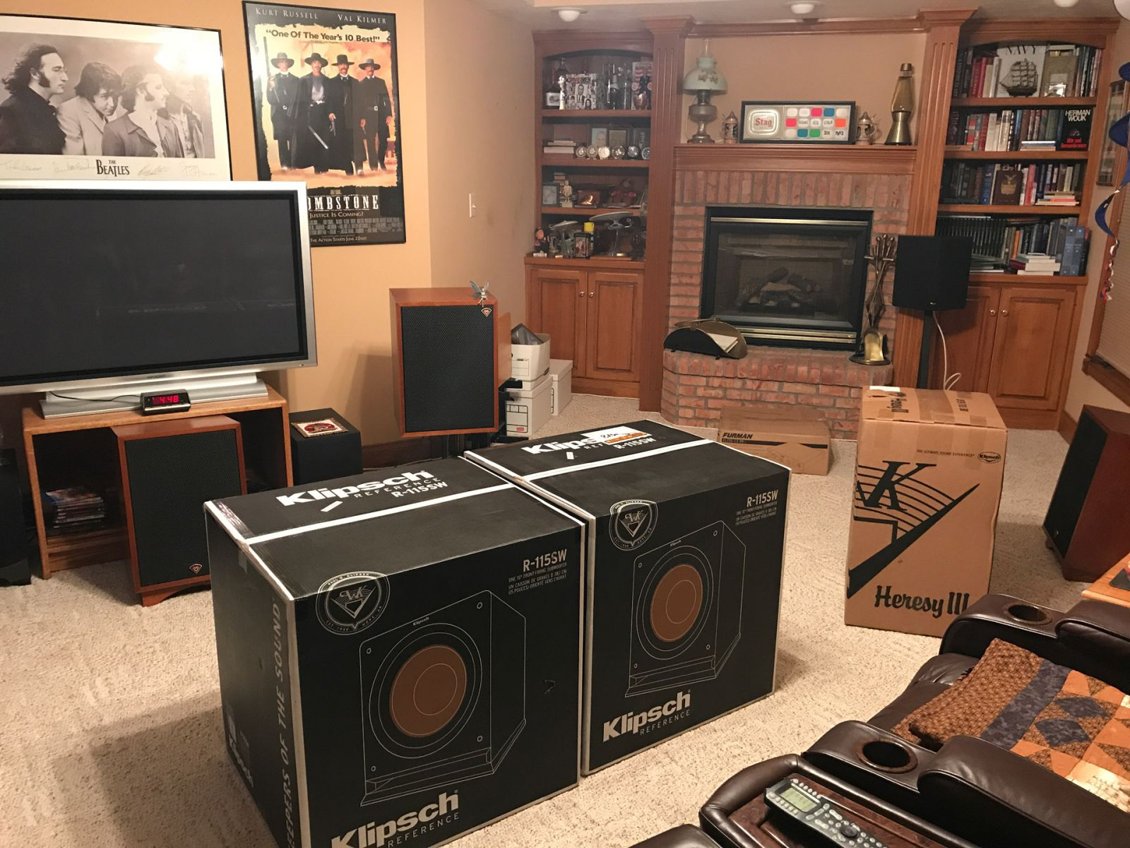 New Toy Day in the Heresy Home Theatre (1)