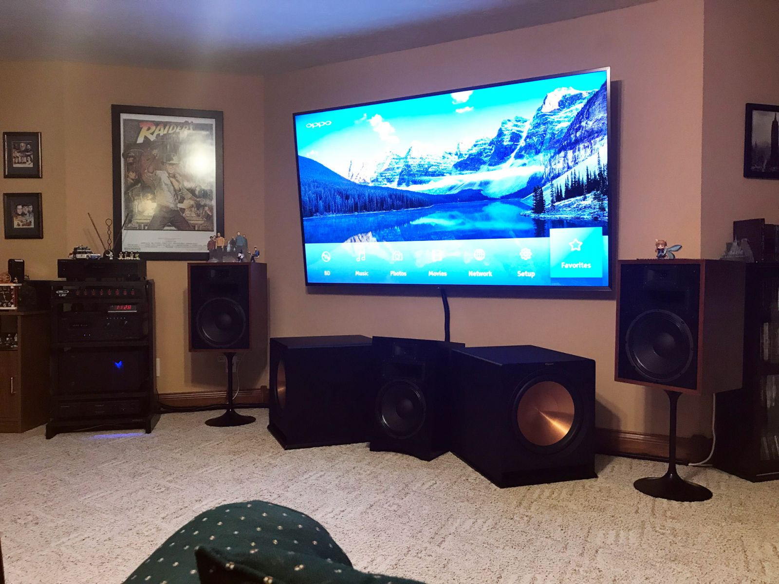 Heresy Home Theatre - Imaging Upgrade